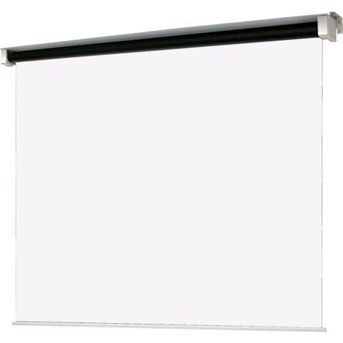 ■OS 80型 電動巻上式スクリーン マスク無し・ボックス収納タイプ〔品番:SET-080HN-TR1-WG103〕[TR-1084954 ]【送料別途お見積り】