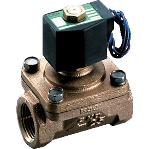 ■CKD パイロットキック式2ポート電磁弁(マルチレックスバルブ)162[[MM2]]/有効断面積〔品番:APK11-20A-02C-AC100V〕[TR-1103253]