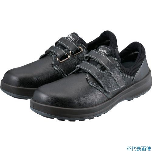 ■シモン 安全靴 短靴 WS18黒 24.0cm〔品番:WS18B-24.0〕[TR-1115248]