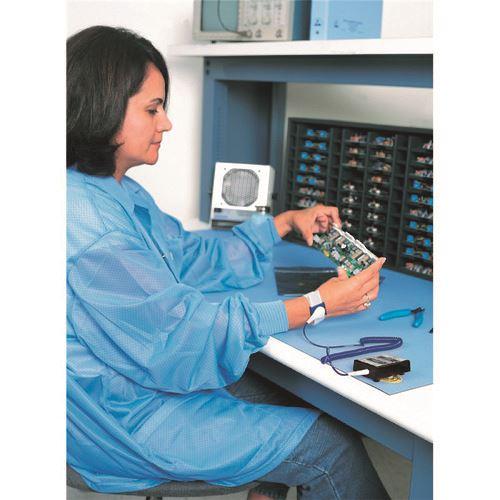 DESCO JAPAN(659171) 生産管理表示板 ■DESCO 常時モニター 多機能型 AC200~240V リストストラップ付き19236(1115893)][送料別途見積り][法人・事業所限定][外直送]