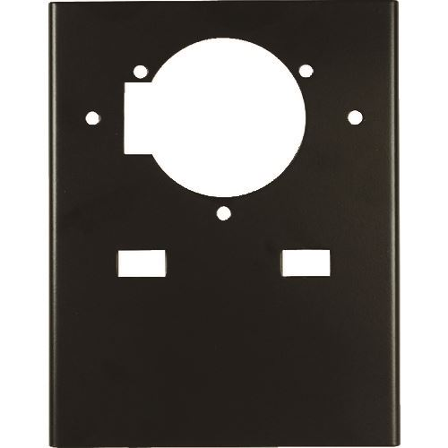 ■DESCO 作業台取り付け金具 吸入口1個及び2個用〔品番:35453〕[TR-1117565]【個人宅配送不可】