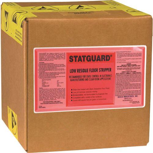 ■DESCO 除去剤 フロアー STATGUARD 9.46 L BOX(1個入)〔品番:10441〕[TR-1119062]【個人宅配送不可】
