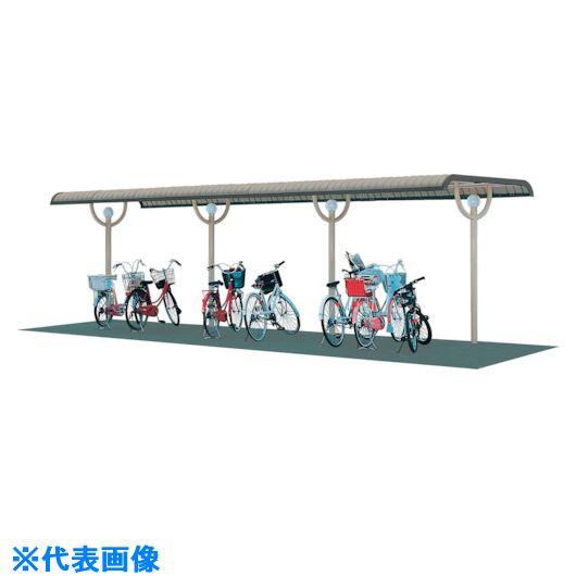 ■タクボ 10Y型自転車置場(基本棟)〔品番:SP103YA-K〕[TR-1119548]【送料別途お見積り】