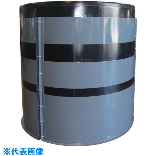 ■スイコー MH型 開放円筒型容器5000L  〔品番:MH-5000〕[TR-1120125]【大型・重量物・個人宅配送不可】