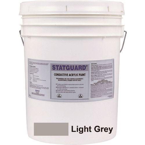■DESCO 導電性アクリル塗料 ライトグレー 18.9L〔品番:10410〕[TR-1120665]【個人宅配送不可】