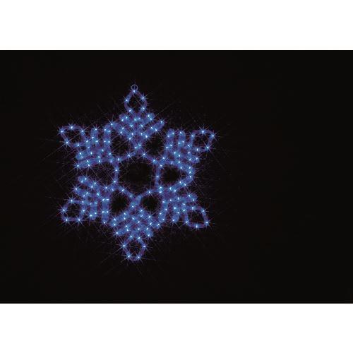 ■デンサン LEDルミネーション(連結タイプ) LEDモチーフ  〔品番:SJ-C102B-N〕[TR-1121070]