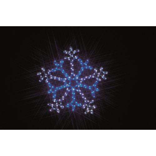 ■デンサン LEDルミネーション(連結タイプ) LEDモチーフ  〔品番:SJ-C103WB-N〕[TR-1125773]