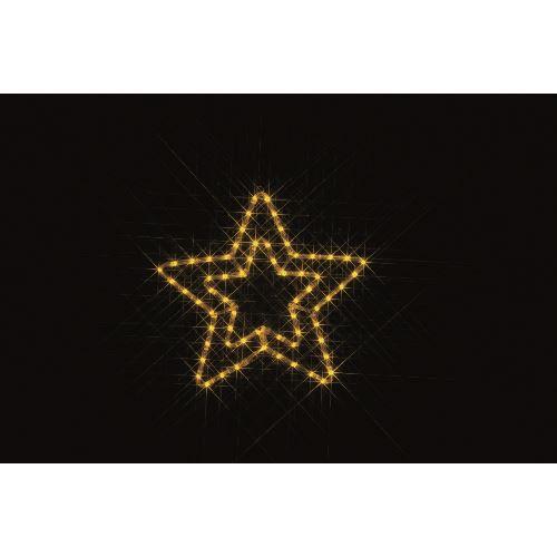■デンサン LEDルミネーション(連結タイプ) LEDモチーフ  〔品番:SJ-C11-N〕[TR-1127319]