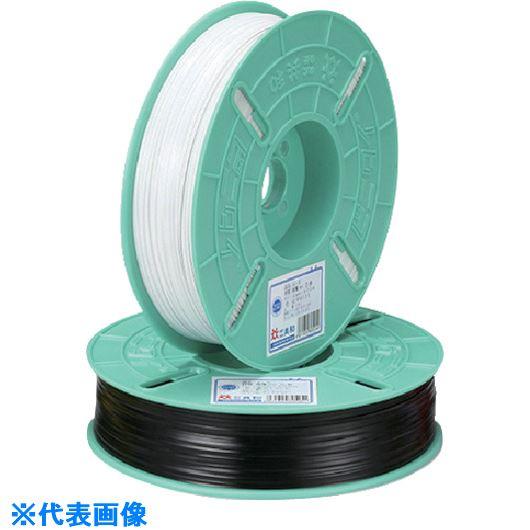 ■ビニタイ PVCリール巻 4MM×600M 茶 10巻入 〔品番:QC-600-9A〕[TR-1129332×10]【送料別途お見積り】