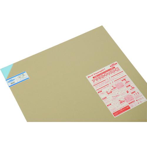 ■光 アクリルキャスト板 600X900 3T ライトブルー 5枚入 〔品番:AC70-369〕[TR-1131173×5]