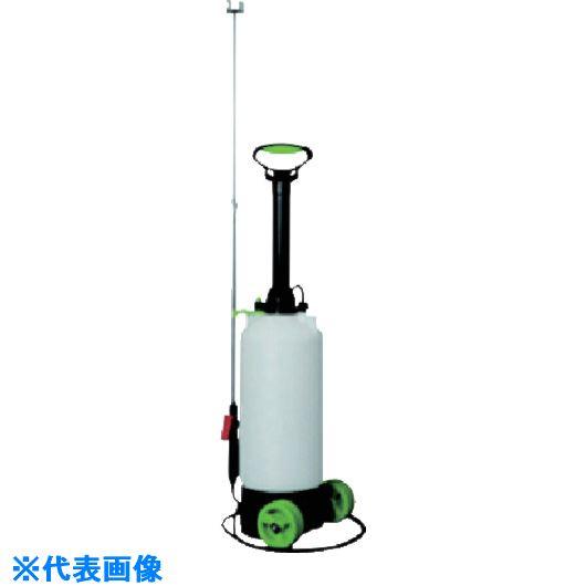 ■ダリヤ 蓄圧式噴霧器ハイパー8L(キャスター付)《4本入》〔品番:WH-8000〕[TR-1134070]