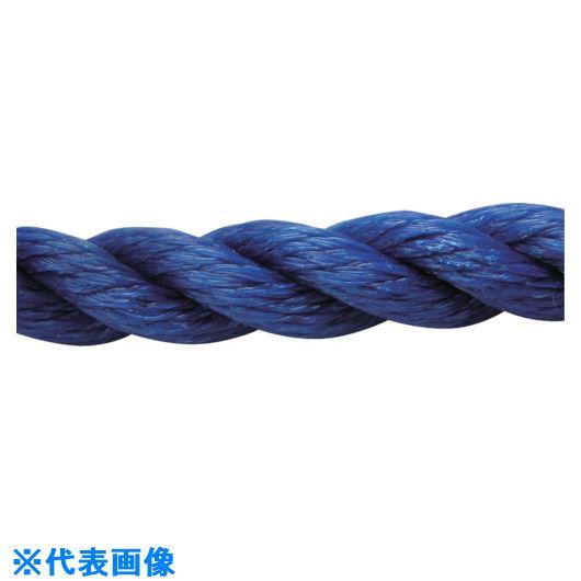 ■ユタカメイク ロープ PEロープ巻物 9Φ×200m ブルー〔品番:PE-52〕[TR-1135536]