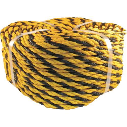■ユタカメイク ロープ 標識ロープ巻物 #9X100M《5巻入》〔品番:NO9-100〕[TR-1137036×5]