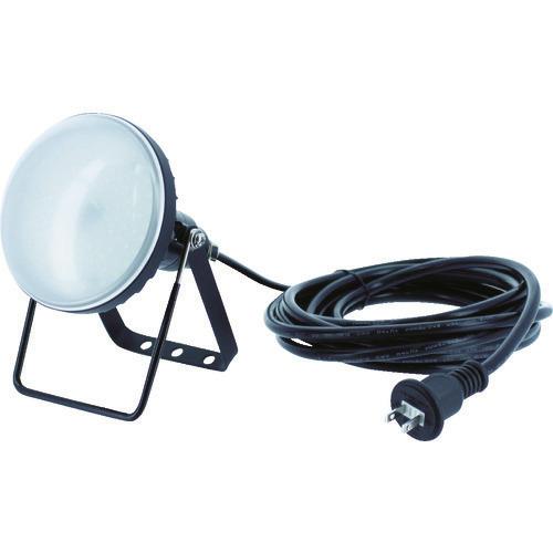 ■TRUSCO LED投光器 DELKURO 20W 10M  〔品番:RTLE-210〕[TR-1141048]