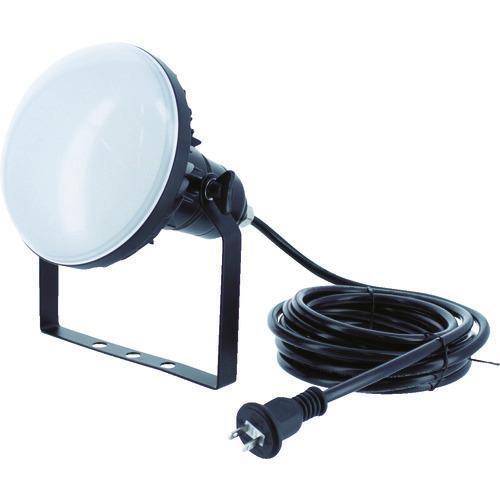 ■TRUSCO LED投光器 DELKURO 50W 10m〔品番:RTLE-510〕[TR-1141049]