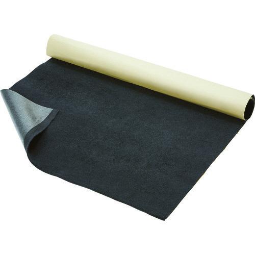 ■TRUSCO 厚手プロテクトシート テープ付 グレー 1200X1M 5枚入 紙管1本巻  〔品番:T4-1200-GY〕[TR-1145776]【大型・重量物・個人宅配送不可】