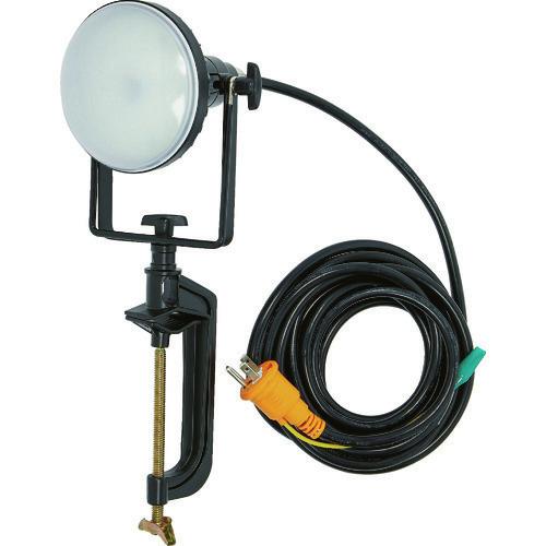 ■TRUSCO LED投光器 DELKURO バイスタイプ 20W 5M アース付 2芯3芯両用タイプ  〔品番:RTLE-205EP-V〕[TR-1145820]