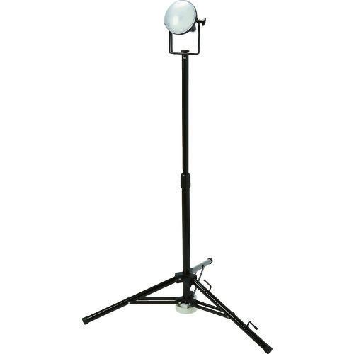 ■TRUSCO LED投光器 DELKURO 三脚タイプ 1灯 20W 5M アース付 2芯3芯両用タイプ  〔品番:RTLE-205EP-SK〕[TR-1145838]