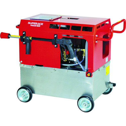 ■スーパー工業 エンジン式 高圧洗浄機 SE-2107ST6(静音型)〔品番:SE-2107ST6〕[TR-1146088]【個人宅配送不可】