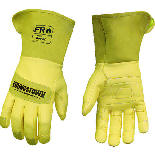 ■YOUNGST 革手袋 FRレザー ケブラー(R) ワイドカフ S  〔品番:12-3275-60-S〕[TR-1146956]