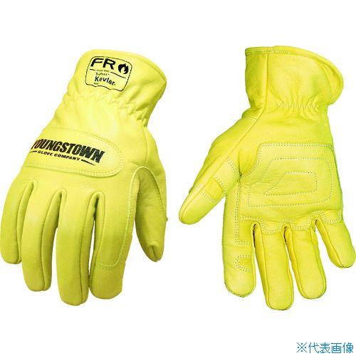 ■YOUNGST 革手袋 FRグラウンドグローブ ケブラー(R) S  〔品番:12-3365-60-S〕[TR-1146962]