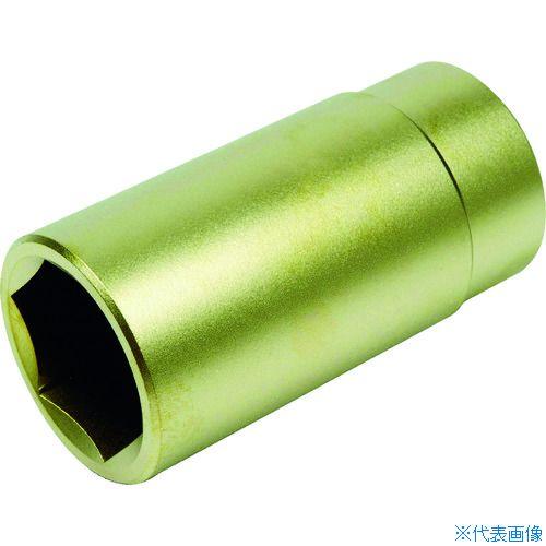 ■A-MAG 防爆6角ディープソケット差込角1/2インチ用 対辺15mm〔品番:0350005S〕[TR-1150460]