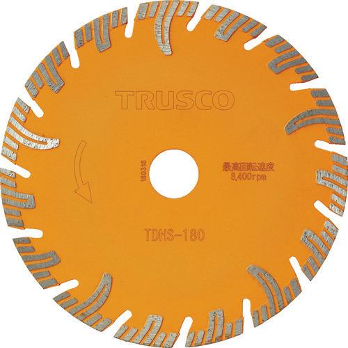 ■TRUSCO ダイヤモンドカッタープロテクトセグメント 180X2.4TX25.4  〔品番:TDHS-180〕[TR-1151137]