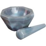 ?レオナ 1166-08 メノー乳鉢深型 〔品番:CD-130〕メーカー取寄[TR-1151614]
