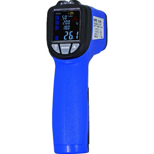 ■カスタム 放射温度計+K熱電対+温湿度+UVライト〔品番:IR-310H〕[TR-1151647]