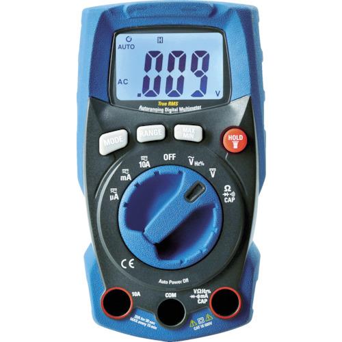 ■カスタム 防塵防水デジタルマルチメータ  〔品番:CDM-3000WP〕[TR-1151664]