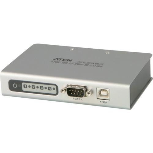 ■ATEN USB TO RS-232 変換器/4ポート   〔品番:UC2324〕[TR-1152213]