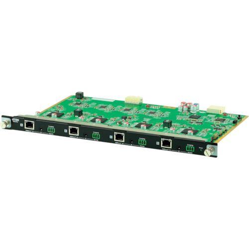 ■ATEN HDBaseT対応入力ボード VM1600用4ポート〔品番:VM7514〕[TR-1152223][送料別途見積り][法人・事業所限定][外直送元]