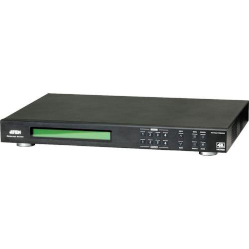 ■ATEN マトリックスビデオ切替器 HDMI / 4入力 / 4出力 / ビデオウォール / 4K対応〔品番:VM6404H〕[TR-1152240]【個人宅配送不可】