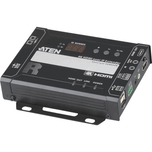 ■ATEN ビデオ延長器用レシーバー HDMI/Video over IP/4K〔品番:VE8950R〕[TR-1152870]【個人宅配送不可】