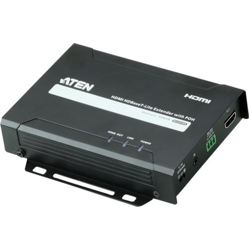 ■ATEN ビデオ延長器用レシーバー HDMI/4K/POH〔品番:VE802R〕[TR-1152885][送料別途見積り][法人・事業所限定][掲外取寄]