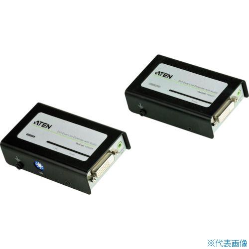 ■ATEN ビデオ延長器 DVI / オーディオ / デュアルリンク対応〔品番:VE602〕[TR-1152903]