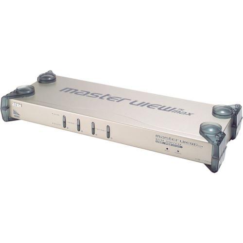 ATENジャパン スイッチ ■ATEN KVMスイッチ 4ポート/PS/2/USB/VGA/オーディオ  〔品番:CS1754〕[TR-1152952]