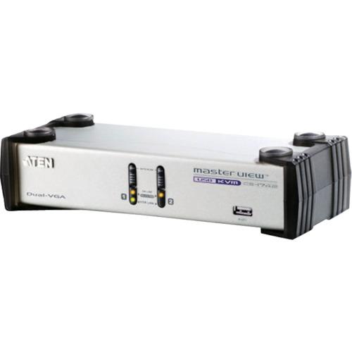 ■ATEN KVMスイッチ  2ポート/USB/VGA/デュアルディスプレイ  〔品番:CS1742〕[TR-1152979]