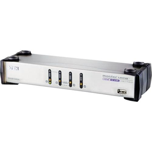 ■ATEN KVMスイッチ 4ポート/ USB/VGA/デュアルディスプレイ〔品番:CS1744〕[TR-1152981][送料別途見積り][法人・事業所限定][掲外取寄]