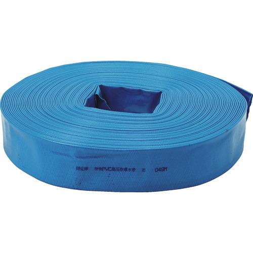 ■TRUSCO PVC送排水用ホース 50MM×100M  〔品番:TPVCH-50-100〕[TR-1157058]