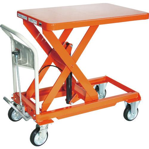 ■TRUSCO ハンドリフター 500KG 600X900 オレンジ  〔品番:HLFA-S500〕[TR-1157836]【大型・重量物・個人宅配送不可】【送料別途見積もり】
