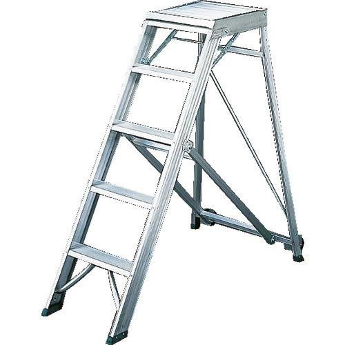 ■TRUSCO 折りたたみ式作業用踏み台 高さ1.50M  〔品番:TDAD-150〕[TR-1157856]