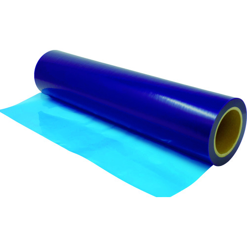 ■三井化学東セロ 三井 表面保護フィルム B5010A 500MM×100M 青  〔品番:B5010A-500〕[TR-1161451]