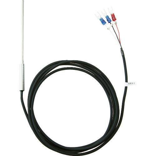 ■TRUSCO 温度センサー PT100Ω測温抵抗体 1.6MMX150MM  〔品番:OSPT-16150Y〕[TR-1163610]