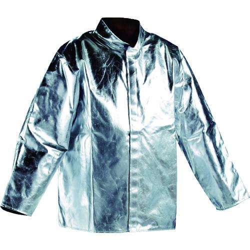 ■JUTEC 耐熱保護服 ジャケット XLサイズ〔品番:HSJ080KA-1-56〕[TR-1163654]