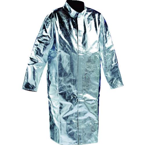 ■JUTEC 耐熱保護服 コート Mサイズ〔品番:HSM120KA-1-48〕[TR-1163659]