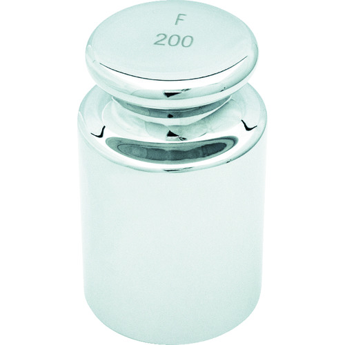 ■TRUSCO OIML 円筒分銅F2級 200G  〔品番:MLCF-200G〕[TR-1164131]
