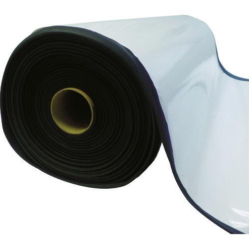■TRUSCO EPDMスポンジロール テープ付 5MM厚 幅1000MMX10M  〔品番:TAFLT-5-10100〕[TR-1164296]【大型・重量物・個人宅配送不可】