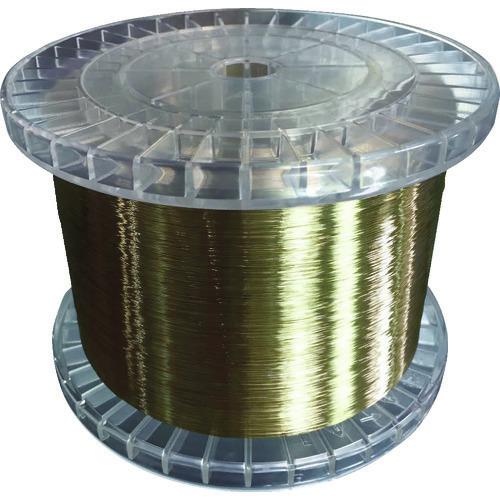 ■TRUSCO 黄銅ワイヤー(エコノミータイプ) 0.2 5KG巻  〔品番:EWT020-5〕[TR-1164539]