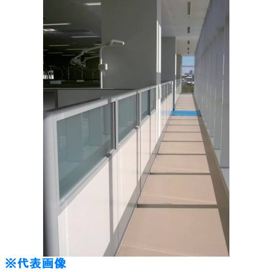 ■ナイキ 上面ガラス下面パネル布張り〔品番:BGC-1910〕[TR-1171717 ]【送料別途お見積り】